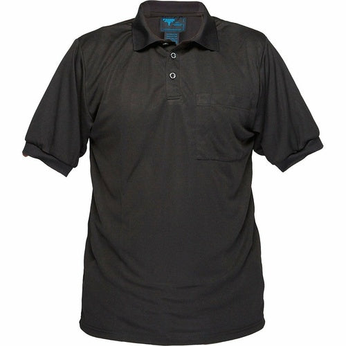 MP101 Short Sleeve Solid Colour Micro Mesh Polo