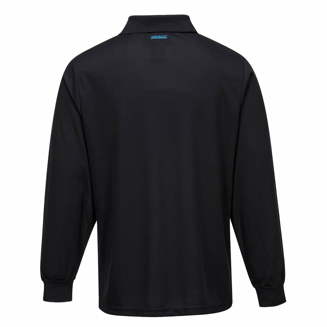 MP103 Long Sleeve Solid Colour Micro Mesh Polo
