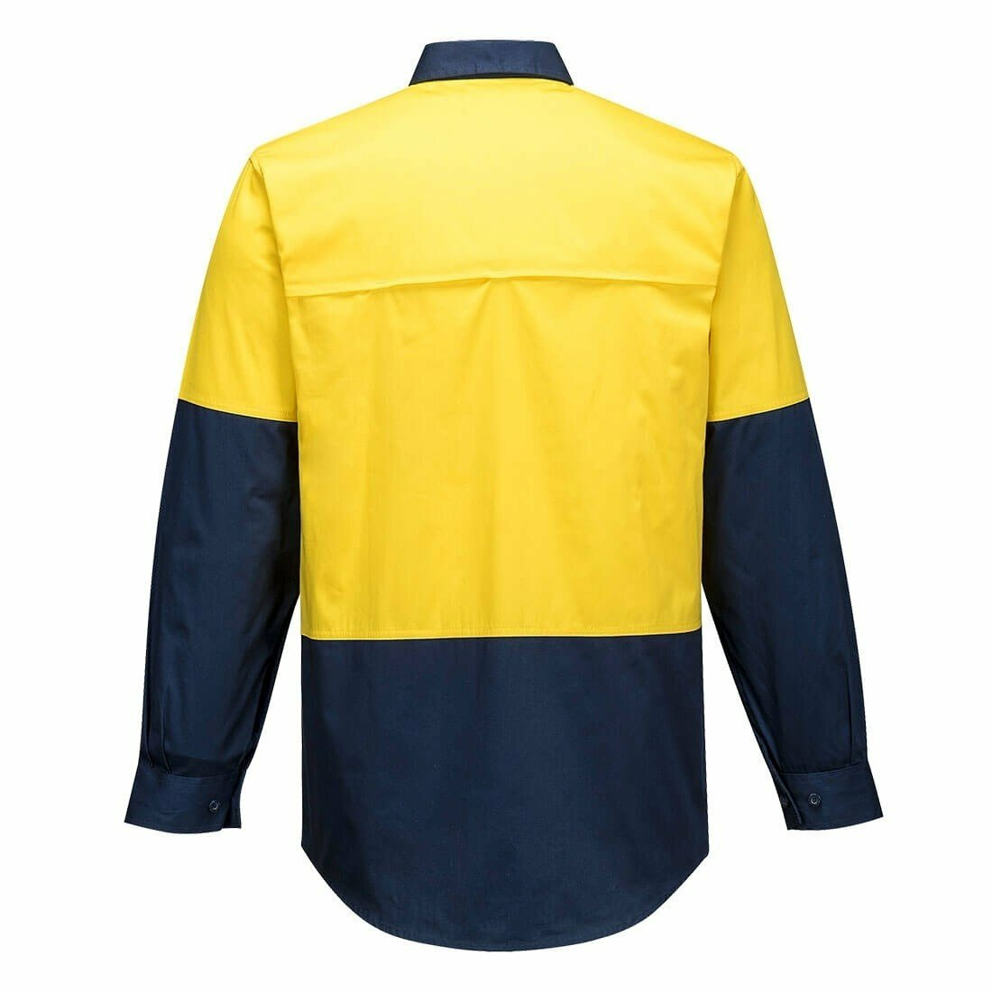 MS801 Hi-Vis Two Tone Lightweight Long Sleeve Shirt