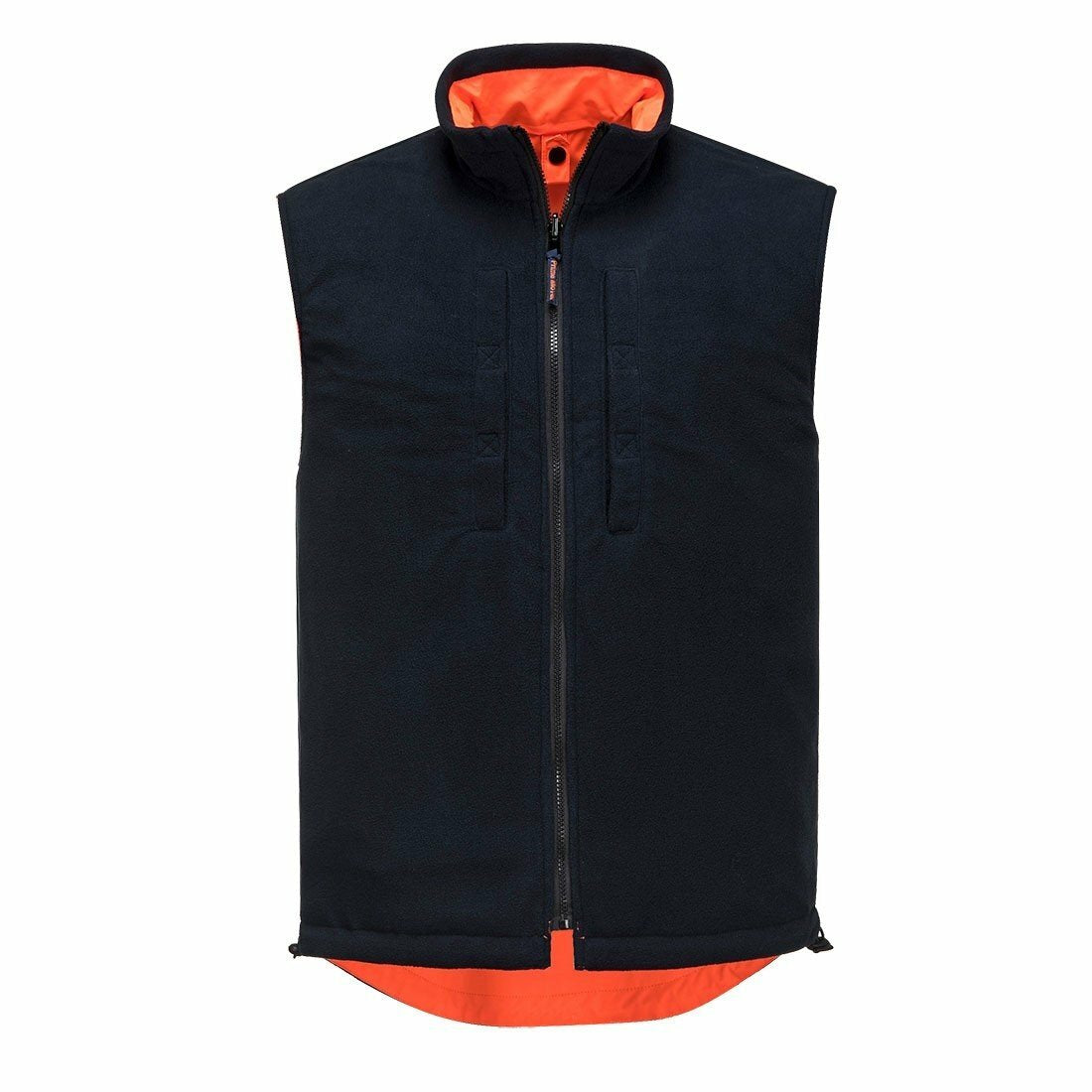 MV214 Polar Fleece Reversible Vest