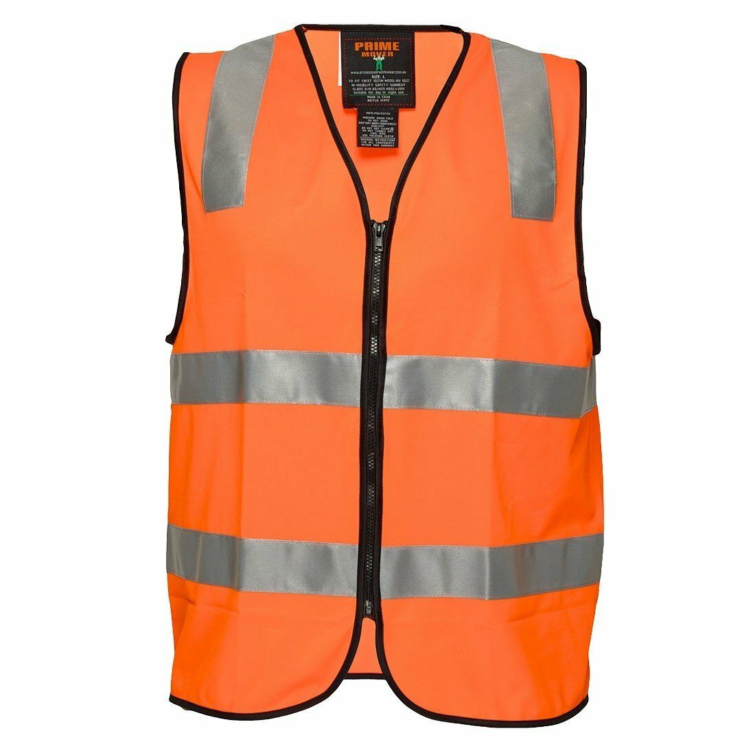 MZ104 Day/Night Safety Vest with Tape