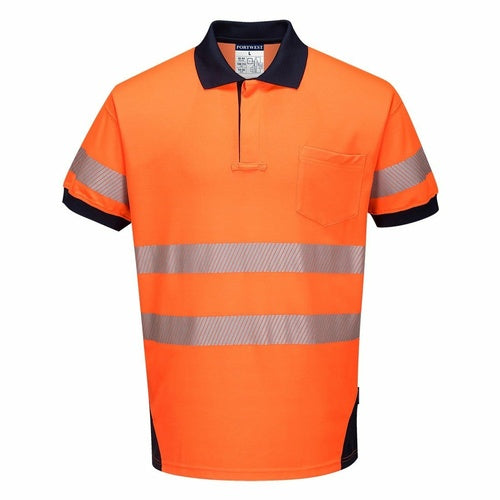 T182 PW3 Hi-Vis Polo Shirt S/S