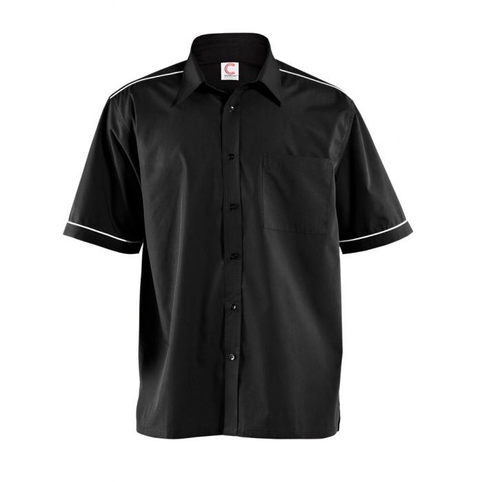 CS074 Mens Shirt With Piping