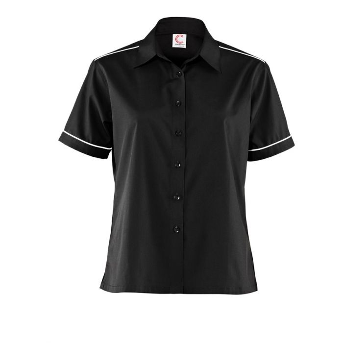 LADIES SHIRT WITH PIPING