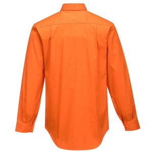 MS988 Hi-Vis Regular Weight Long Sleeve Shirt