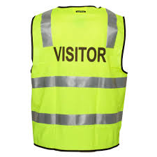 MZ106 Day/Night Safety Vest With Tape