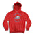 Saginaw Spirit Center Ice Hoodie - Red