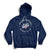Windsor Spitfires Center Ice Hoodie - Navy