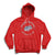 Windsor Spitfires Center Ice Hoodie - Red