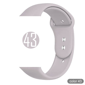 Soft Silicone Sports Band for Apple Watch