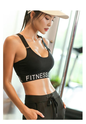 Push Up High Support Sports Bra