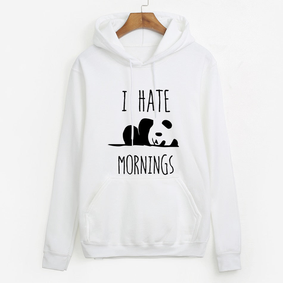 I Hate Mornings Hoodie