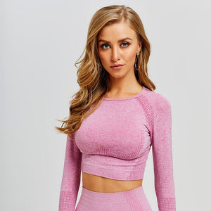 Vital Seamless Yoga Crop Top