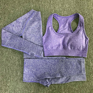 3PCS Vital Seamless Yoga Set
