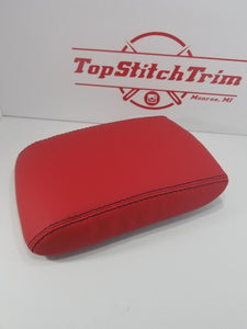 2008-14 Subaru Impreza WRX and STI Red Premium Vinyl Shift / Brake and armrest set