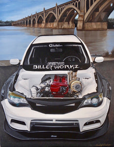 "Custom Painting Of Your Car (18""x24"")"