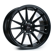 Cosmis Racing Wheels R1 18x8.5 +35 5x114.3 Black Wheel