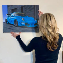 "Load image into Gallery viewer, Custom Painting Of Your Car (18""x24"")"