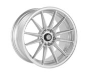 Cosmis Racing Wheels R1 18x9.5 +35 5x114.3 Silver Wheel