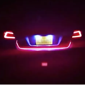 Custom Led Trunk Mod Running Turn Brake Light Strip