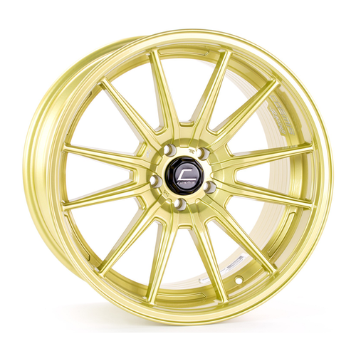 Cosmis Racing Wheels R1 18x10.5 +32 5x114.3 Gold Wheel