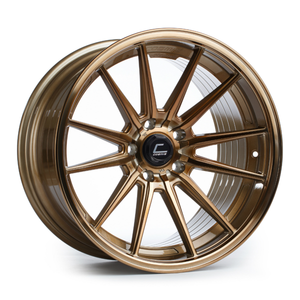 Cosmis Racing Wheels R1 18x9.5 +35 5x100 Hyper Bronze