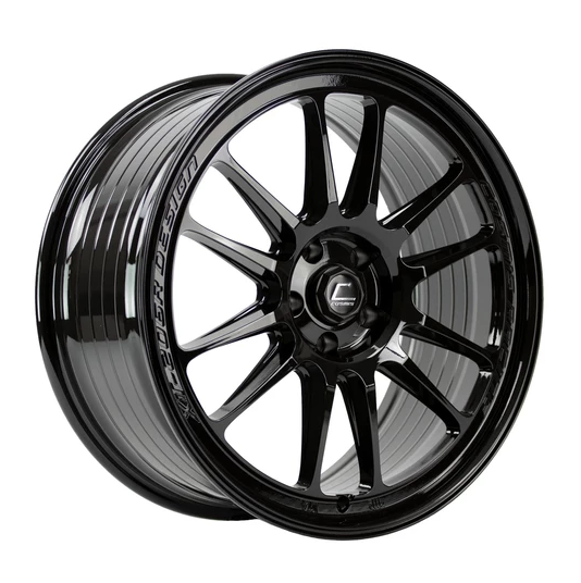Cosmis Racing Wheels XT-206R Black Wheel 20x9 +35mm 5x114.3