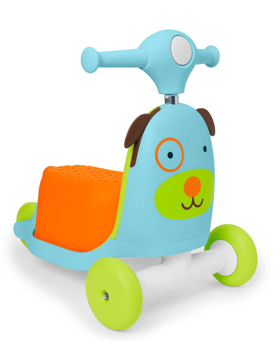 Skip Hop Zoo 3-In-1 Wagon/Ride On/Scooter Toy, Dog - Preggy Plus