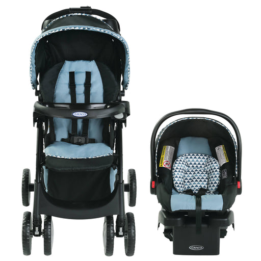 Graco Travel System Comfy Cruiser Click Connect, Jax - Preggy Plus