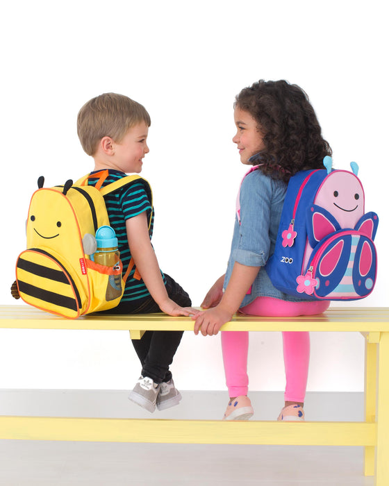 Skip Hop Zoo Little Kid Backpack, Bee - Preggy Plus