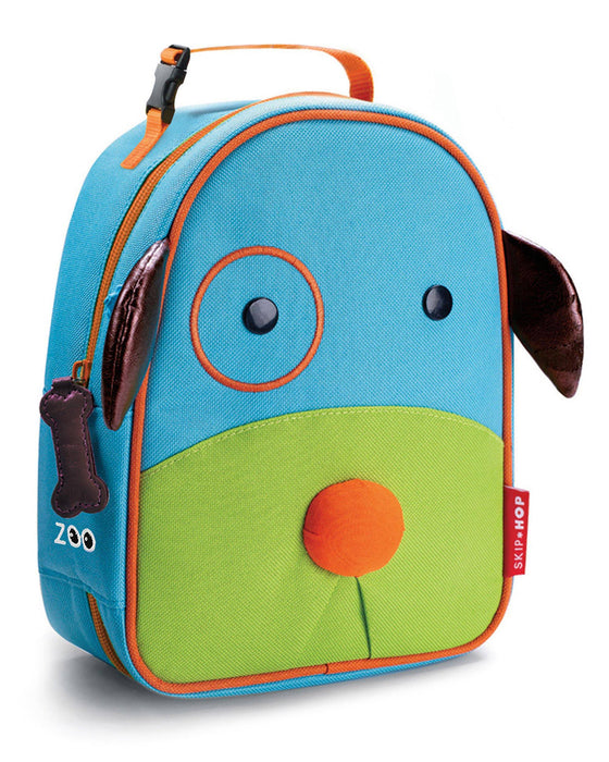 Zoo Lunchie Insulated Kids Lunch Bag, Dog - Preggy Plus