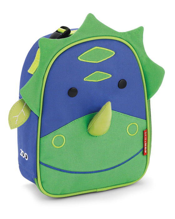 Zoo Lunchie Insulated Kids Lunch Bag, Dinosaur - Preggy Plus
