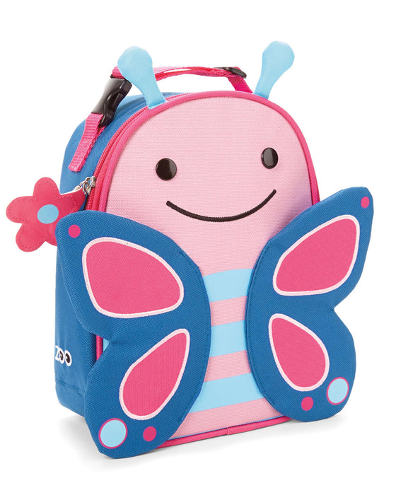 Zoo Lunchie Insulated Kids Lunch Bag, Butterfly - Preggy Plus