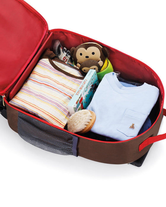 Skip Hop Zoo Kids Rolling Luggage, Monkey - Preggy Plus