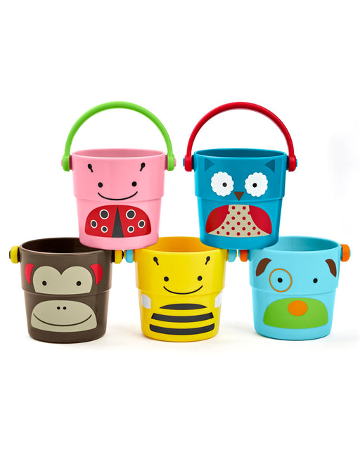 Skip Hop Zoo Stack & Pour Buckets - Preggy Plus