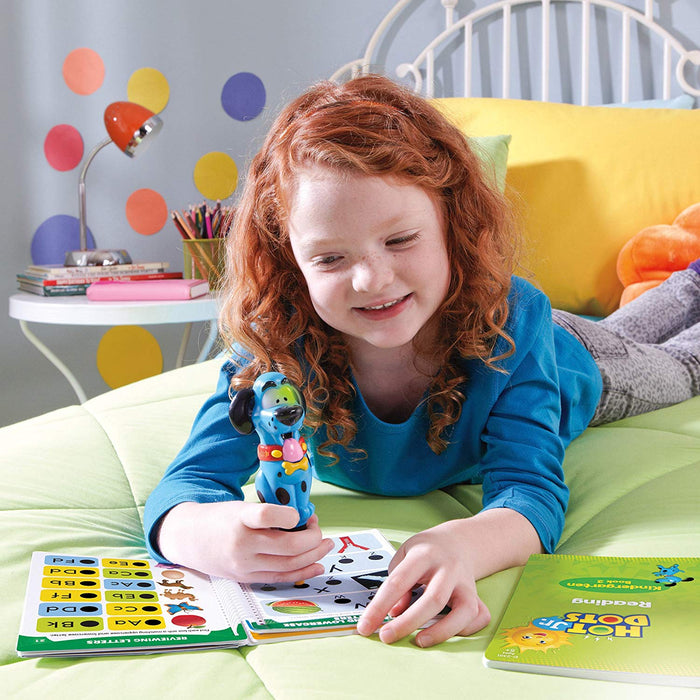 Hot Dots® Jr. Let's Master Kindergarten Reading Set with Ace—The Talking, Teaching Dog® Pen - Preggy Plus