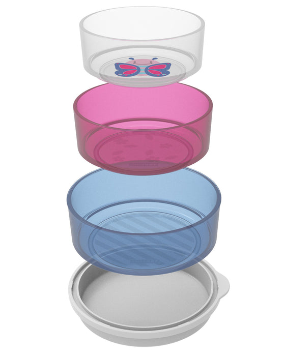 Zoo Smart Serve Non-Slip Bowls, Butterfly - Preggy Plus