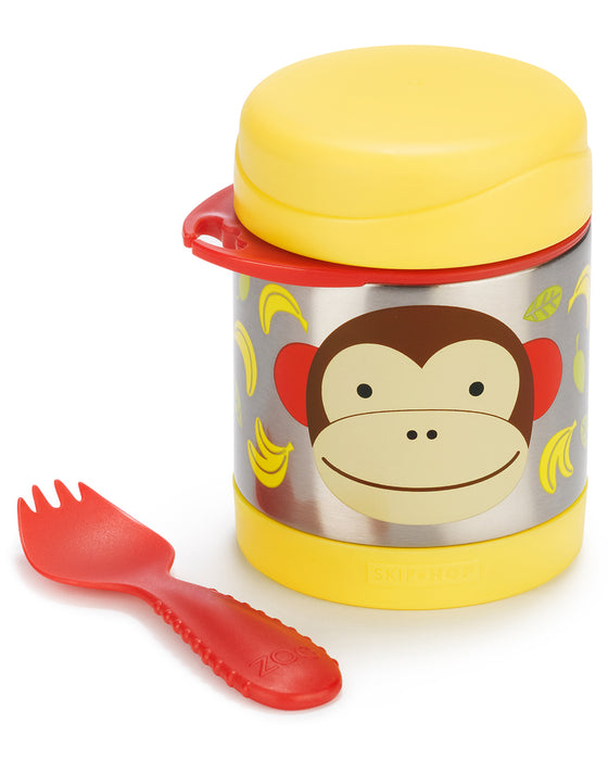 Skip Hop Insulated Little Kid Food Jar, Monkey - Preggy Plus