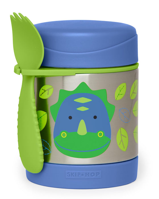 Skip Hop Insulated Little Kid Food Jar, Dino - Preggy Plus