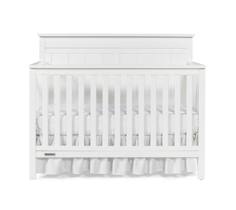 Fisher-Price Clayton 4-in-1 Convertible Crib, Snow White - Preggy Plus