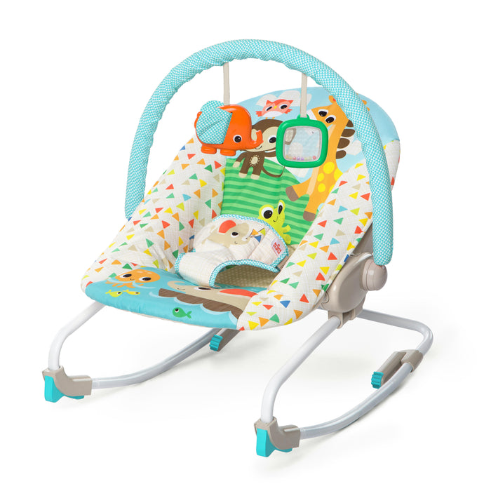 Bright Starts Rocker Seat - Sunshine Seaside - Preggy Plus