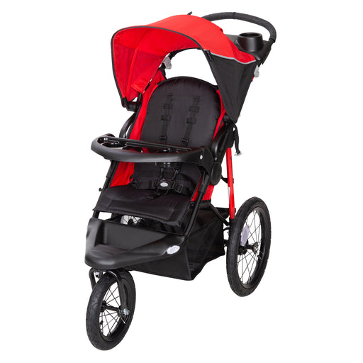 Baby Trend Xcel R8 Jogger Stroller, Ruby Red - Preggy Plus