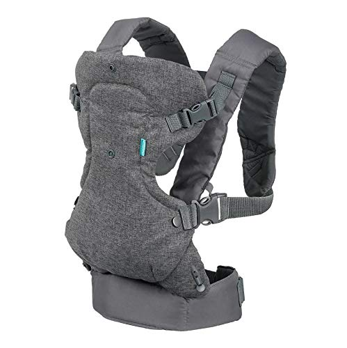 Infantino Flip 4-in-1 Convertible Carrier, Grey - Preggy Plus