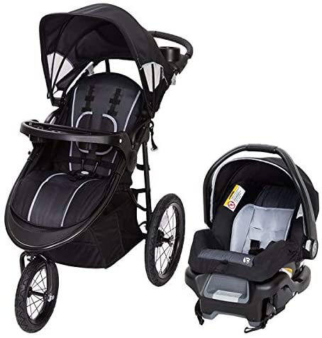 Baby Trend Cityscape Plus Jogger Travel System - Raven - Preggy Plus