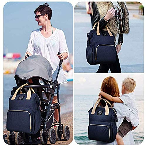 OSOCE Backpack Diaper Bag - Dark Blue - Preggy Plus