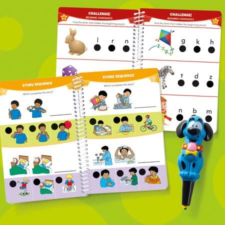 Hot Dots® Jr. Let's Master Pre-K Reading Set with Ace—The Talking, Teaching Dog® Pen - Preggy Plus