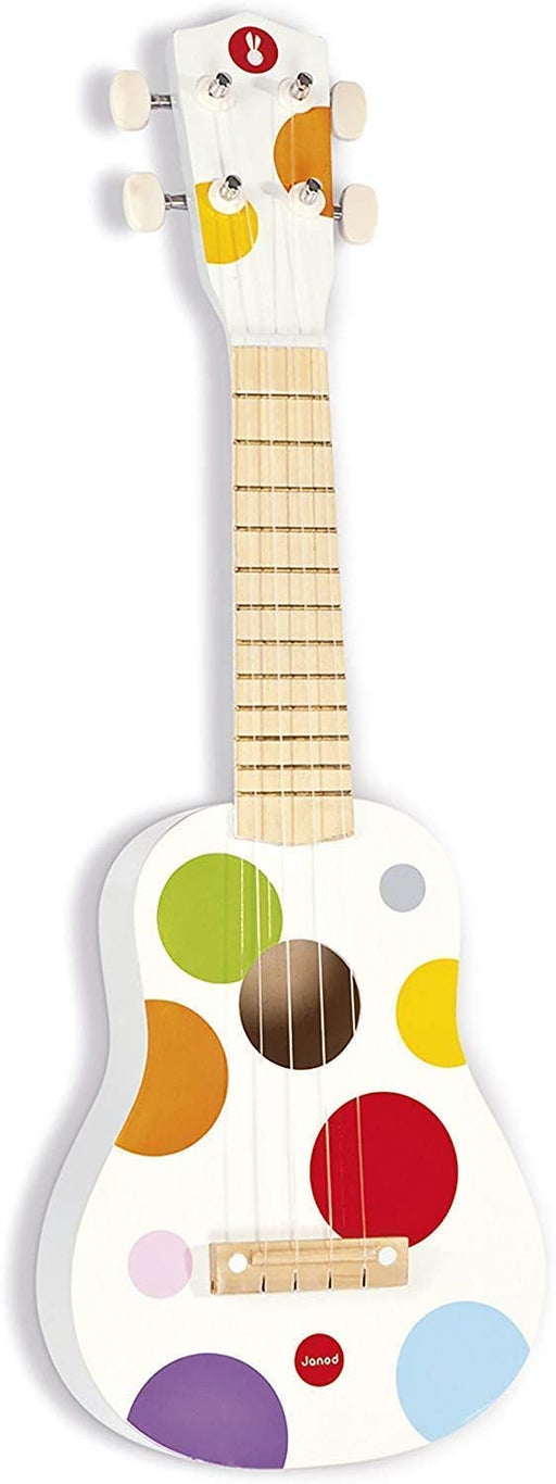 Janod Kids Wooden Toy Ukulele 'Confetti - Preggy Plus
