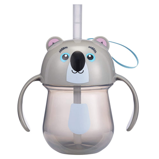 Animal Character Straw Trainer Cup 7 Oz - Koala - Preggy Plus