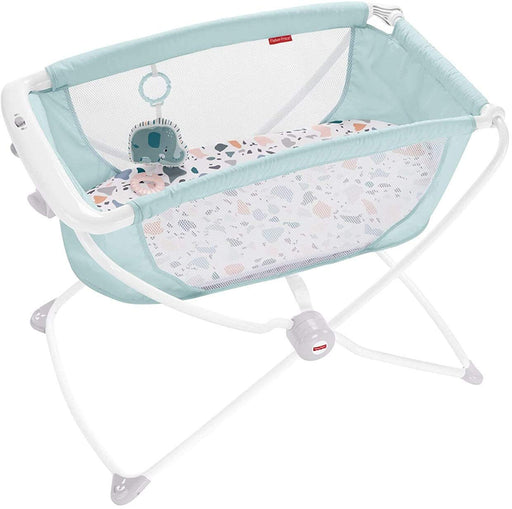 Fisher-Price Rock with Me Bassinet, Blue - Preggy Plus