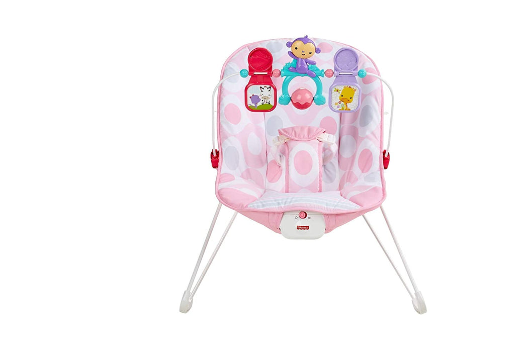 Fisher-Price Deluxe Bouncer: Pink Ellipse - Preggy Plus
